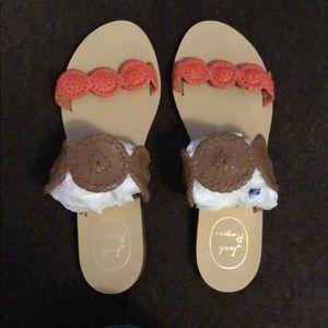 Jack Rogers sandals!